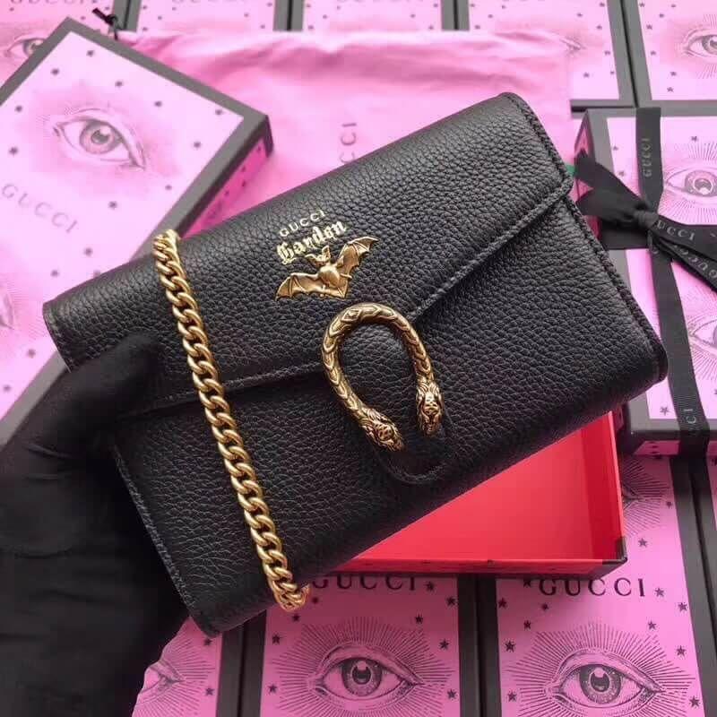 8607dddefefd Gucci Garden Bat Dionysus Mini Chain Bag