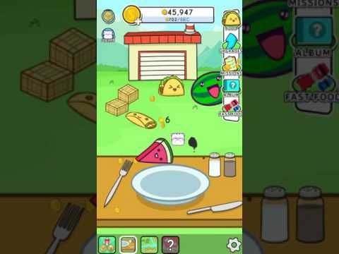 Free iOS and Android Game Food Evolution Clicker Game