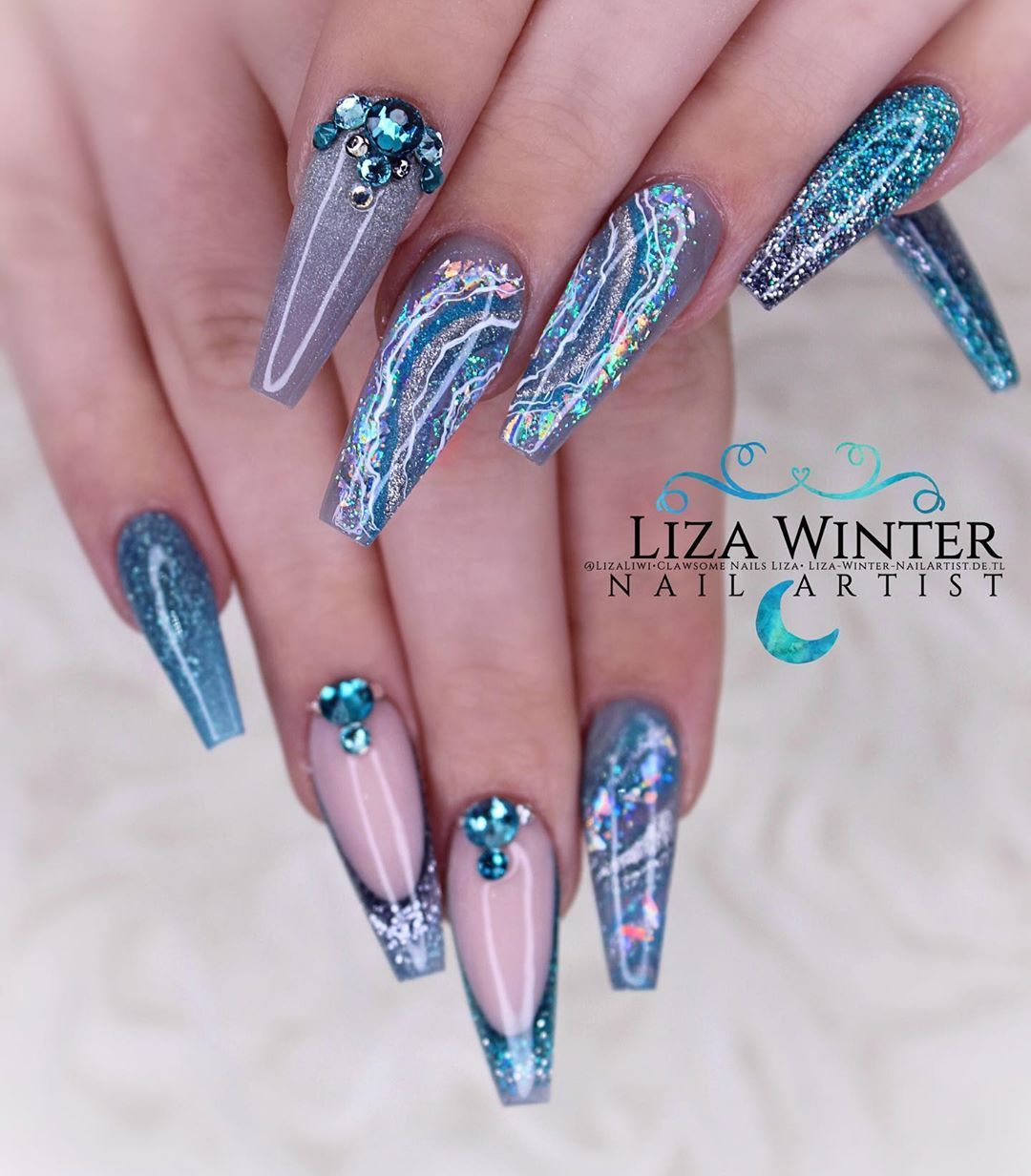 Teal Twinkle Products Used Benutzte Produkte Prep Glitterbels Metal File Board Glitterbels File Refills 100 G With Images Nails