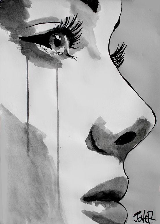 Saatchi art artist loui jover pen and ink 2012 drawing awakening