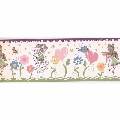"Harriet Bee Buttram Kids 15' L x 7"" W Wallpaper Border"