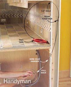Wiring Under Cabinet Data Wiring Diagrams