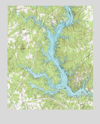 Lake Wylie Sc Usgs Topographic Map For The Home Map