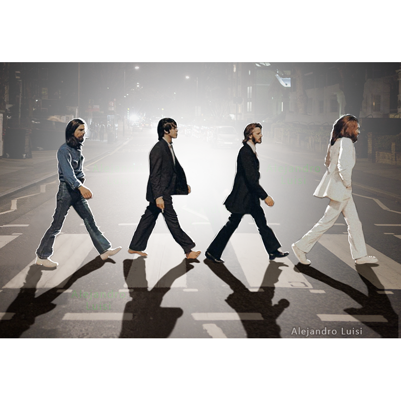 Abbey Road At Night Abbeyroad Thebeatles Crossing Beatlemania Beatles Abbey Road Abbey Road Beatles Abbey