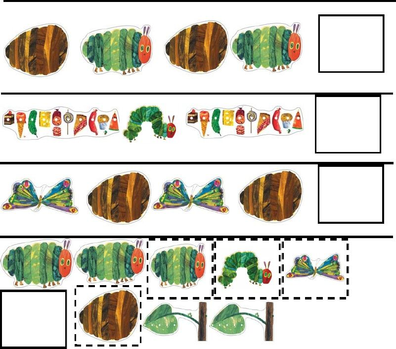 The Very Hungry Caterpillar Activity Pack   Scribd   The Very ...
