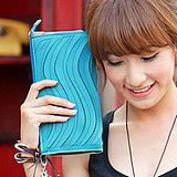 2012 Korean style Candy color lady's clutch bag shoulder bag free shipping