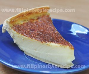 Egg Pie Filipino Style Recipe Egg Pie Recipes Filipino Recipes
