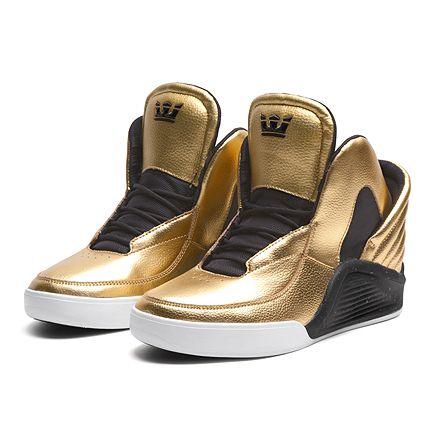 classic fit e76ab 7e7e3 SUPRA CHIMERA   GOLD   BLACK-WHITE   Official SUPRA Footwear Site