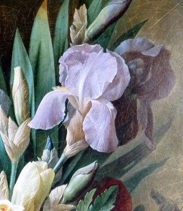 Augustin Thierriat 1789 1870 Fleurs Dans Un Vase Du Japon