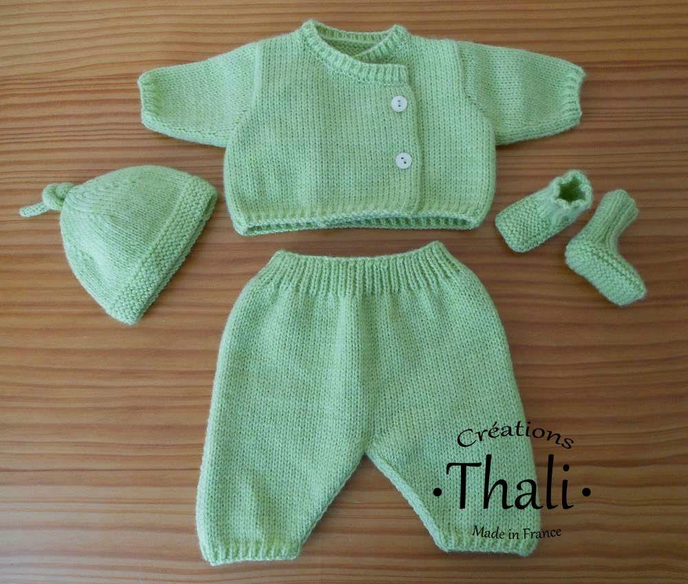 Ensemble tricot pour bébé prématuré - Le blog de Thali, Activités pour  petites mains a4f6acd5fa7