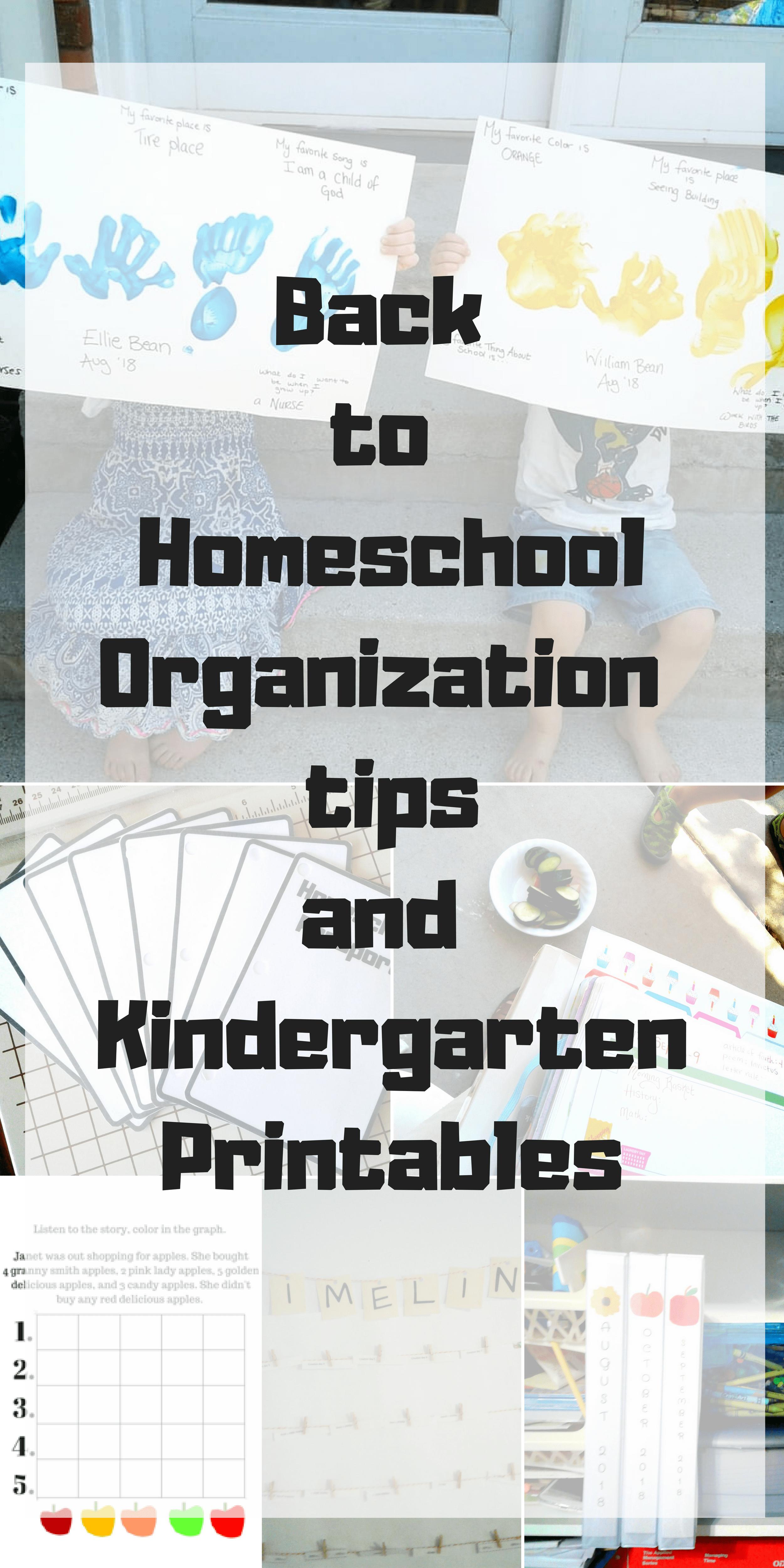 Back To Homeschool Organization Freebies And Homeschool