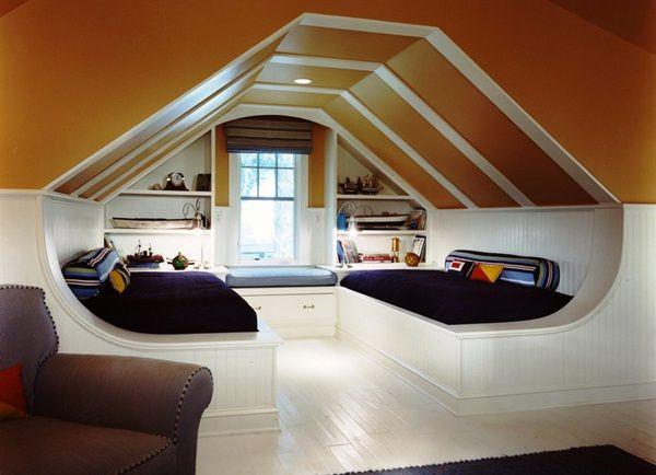 40 Insanely Cool Attic Conversion Ideas Attic Bedroom Small