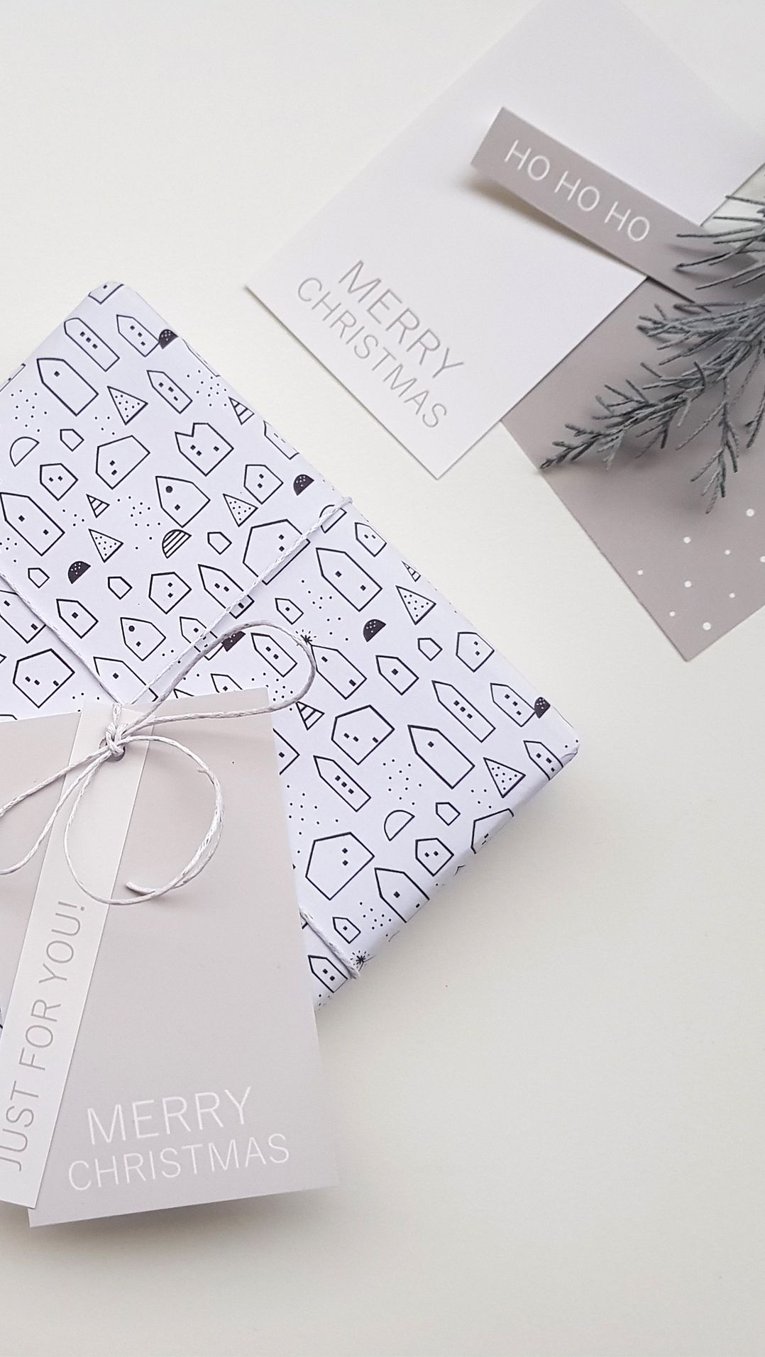 Free printable christmas gift tags printable sheet contains 12 free printable christmas gift tags printable sheet contains 12 different tags in shades of grey negle Images