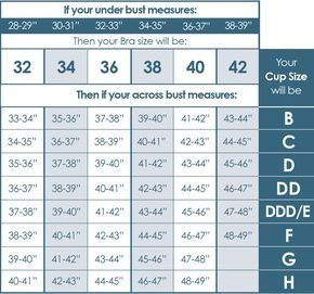 Bra size chart google search also beauty guide  how to  pinterest rh