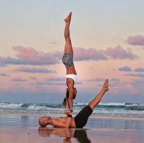 alo yoga  acro yoga poses yoga inspiration partner yoga