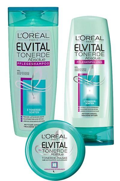 Shampoo Gegen Fettige Haare Loréal Elvital Tonerde Absolue Shampoo