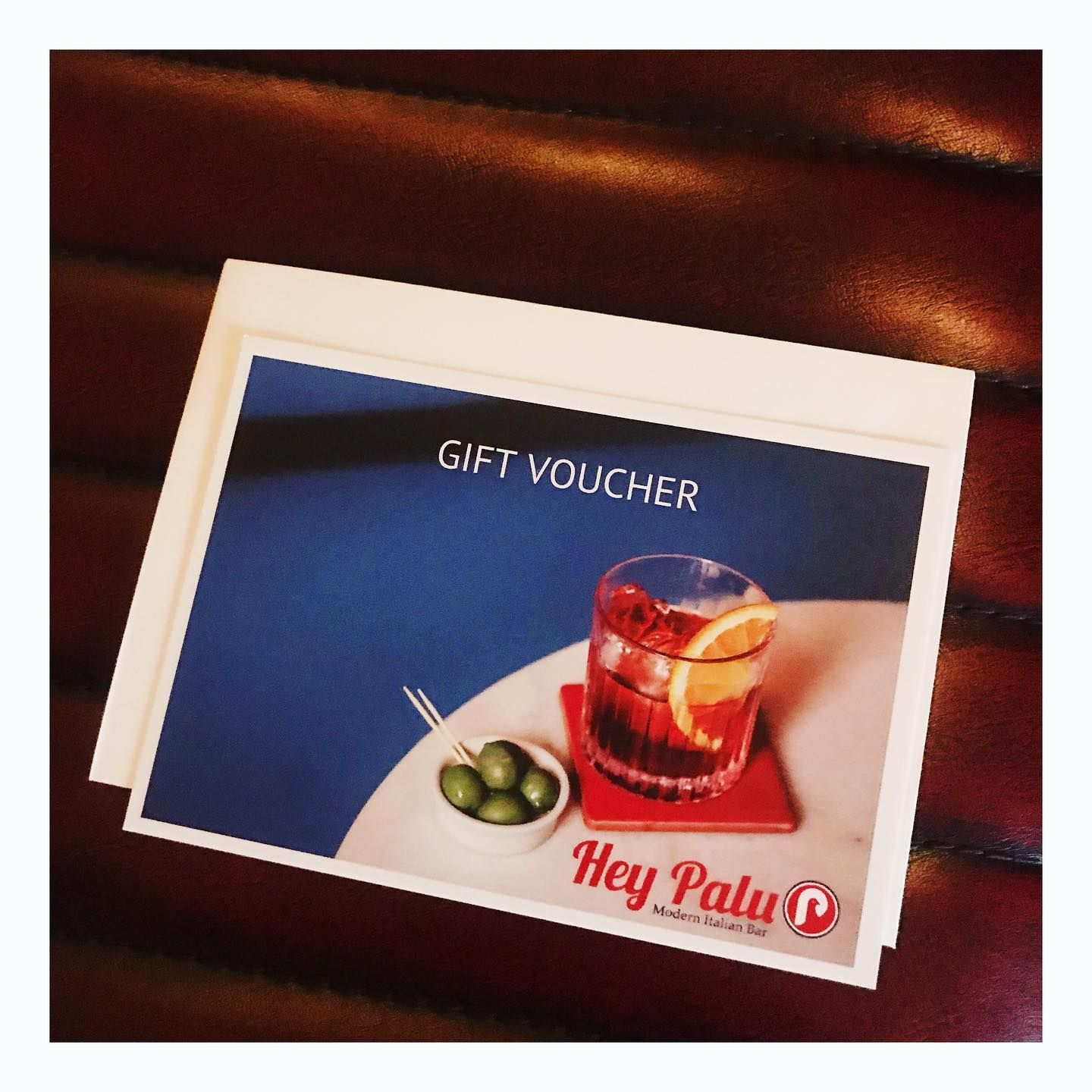 Also now selling gift vouchers 🍷🥂🍹🍸 #gifted #bestxmaspresent #cocktaillovers . . . . . . #heypalu 👋🐦🍸 #modernitalianbar  #edinburghbloggers #edinburghlife #edinburghstory #edinburghhighlights #thediscoverer #cocktailsbars #cocktailblog #cocktailbloggers #cocktailhour  #aperitivo #hiddenedinburgh