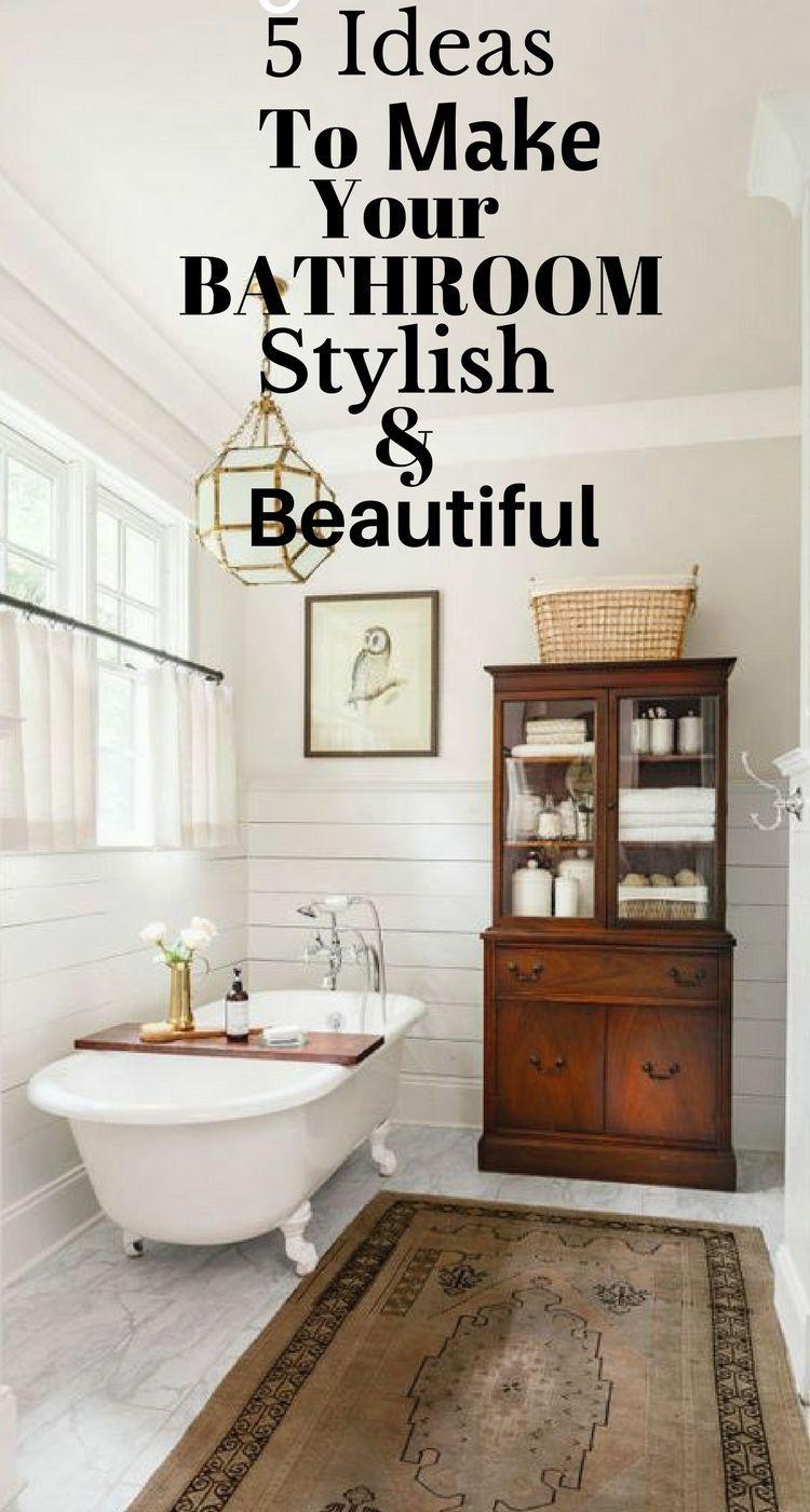 transform your bathroom with these ideas my home diy home decor rh pinterest fr transform your bathroom in one day transform your old bathroom
