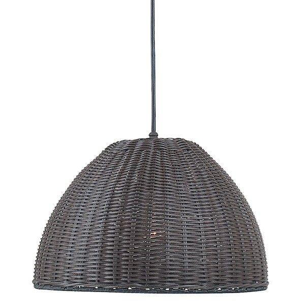 Highlow black rattan pendant light mimbre fibra y vegetales royce lighting black rattan pendant aloadofball Images
