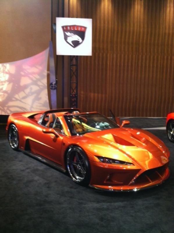 Falcon F7 Gallery | Ultimate, exotic American supercar