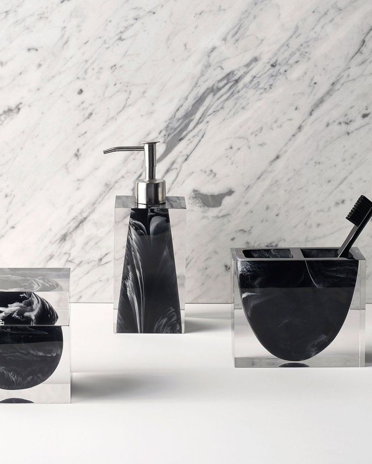 Everyone Should Have Matching Bathroom Accessories And These Sets Are Proof Bath Accessories Black Bath Bathroom Accessories