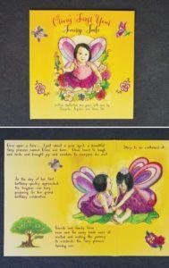 fairytale first birthday invitation