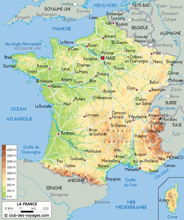 La Carte De France Avec Ses Regions Carte De France Ville Carte