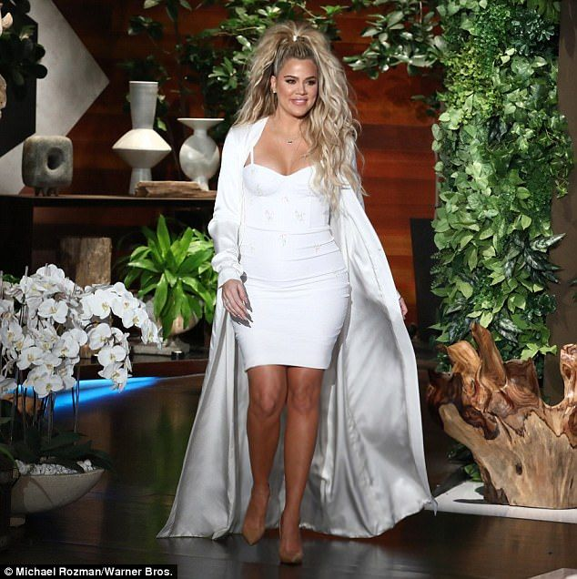 Khloe Kardashian Makes First Public Appearance Since: Khloe Kardashian Makes First Visit To Ellen Since