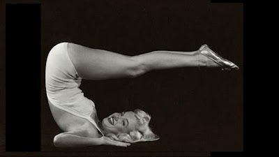 Marilyn was a yogi.  And I am too