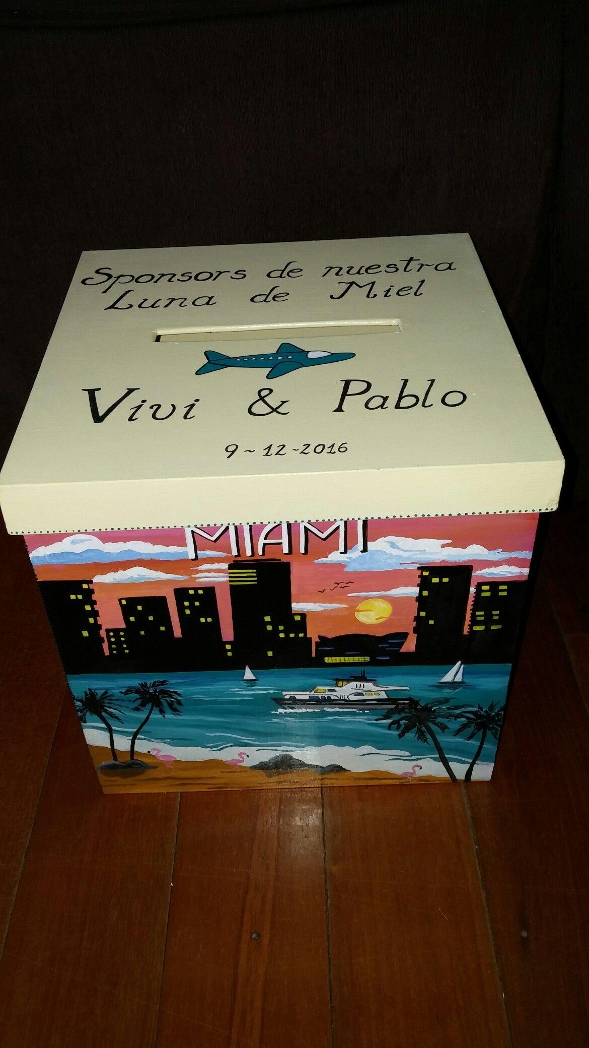 e71d8af8878e Caja alcancia urna para boda personalizada en medida 20x20x20 cm ...