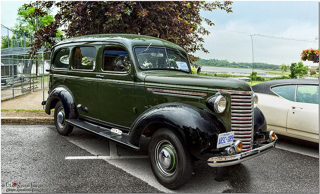 1938 Chevrolet Master Deluxe Drivers Side Front View Car