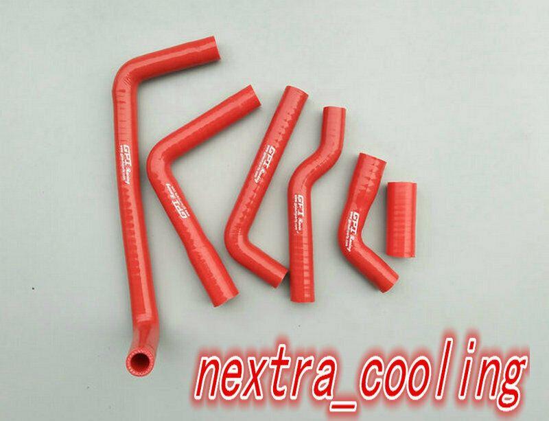 Red For Honda CR250 CR 250 2002-2007 Silicone Radiator Hoses