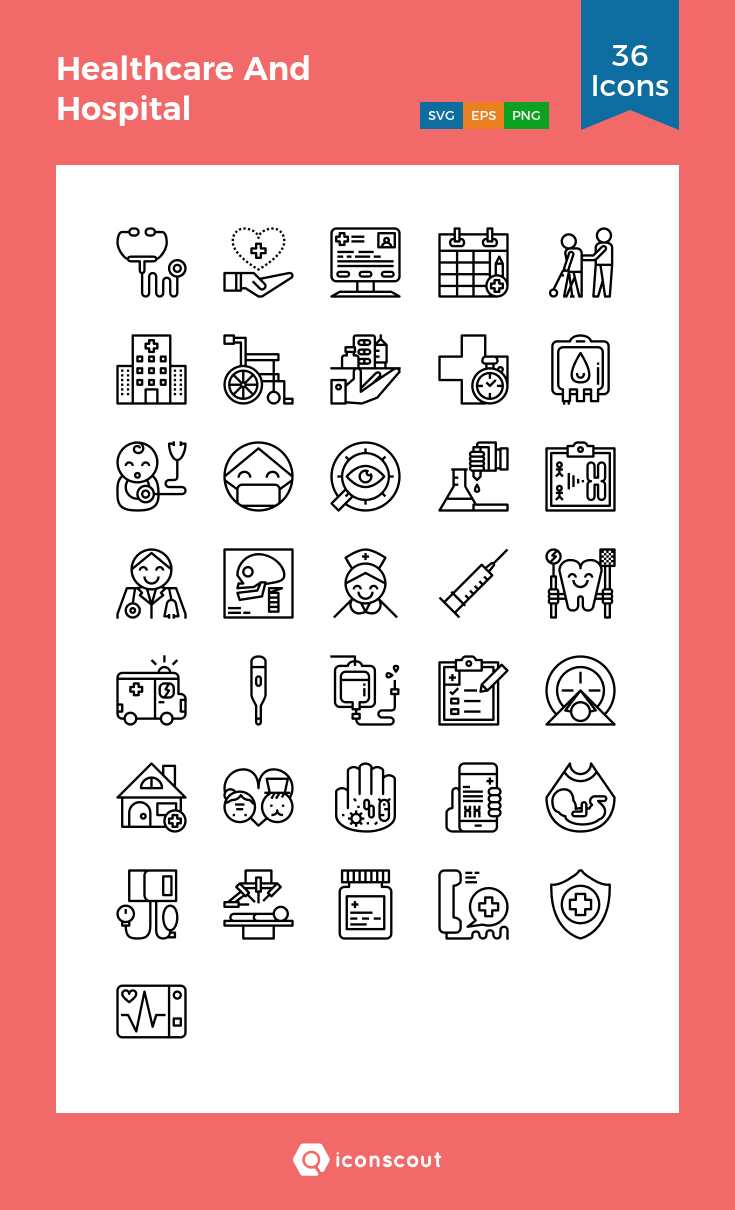 Download Healthcare And Hospital Icon Pack Available In Svg Png Eps Ai Icon Fonts Hospital Icon Icon Medical Icon