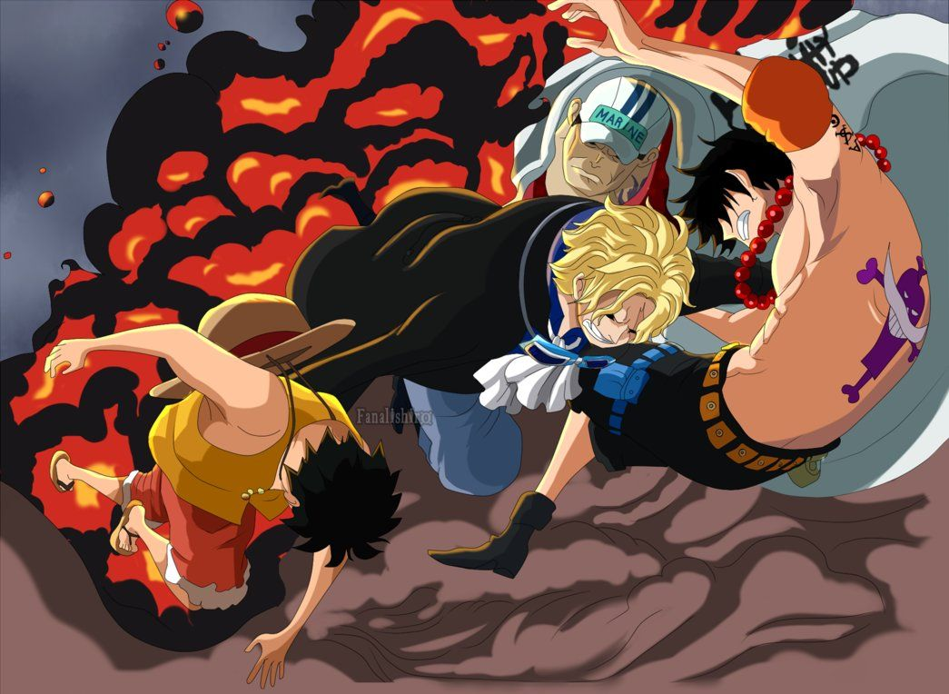 Another Ending - Sabo saves Luffy and Ace (OP) by FanaliShiro