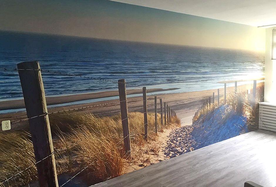 Fotobehang Strand Zee.Fotobehang Duinen Met Uitzicht Op Het Strand En Zee Shannon