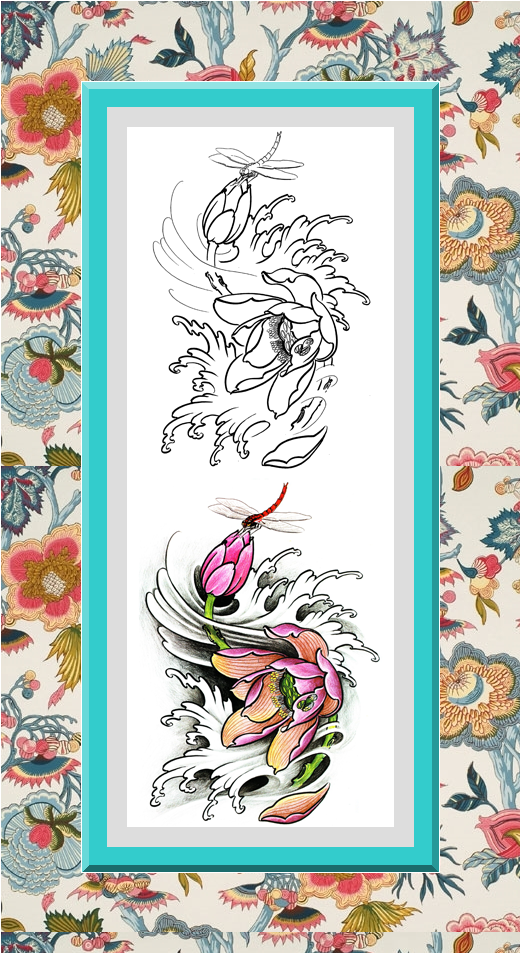 Clear sharp outlines. This flowers art therapy coloring ...