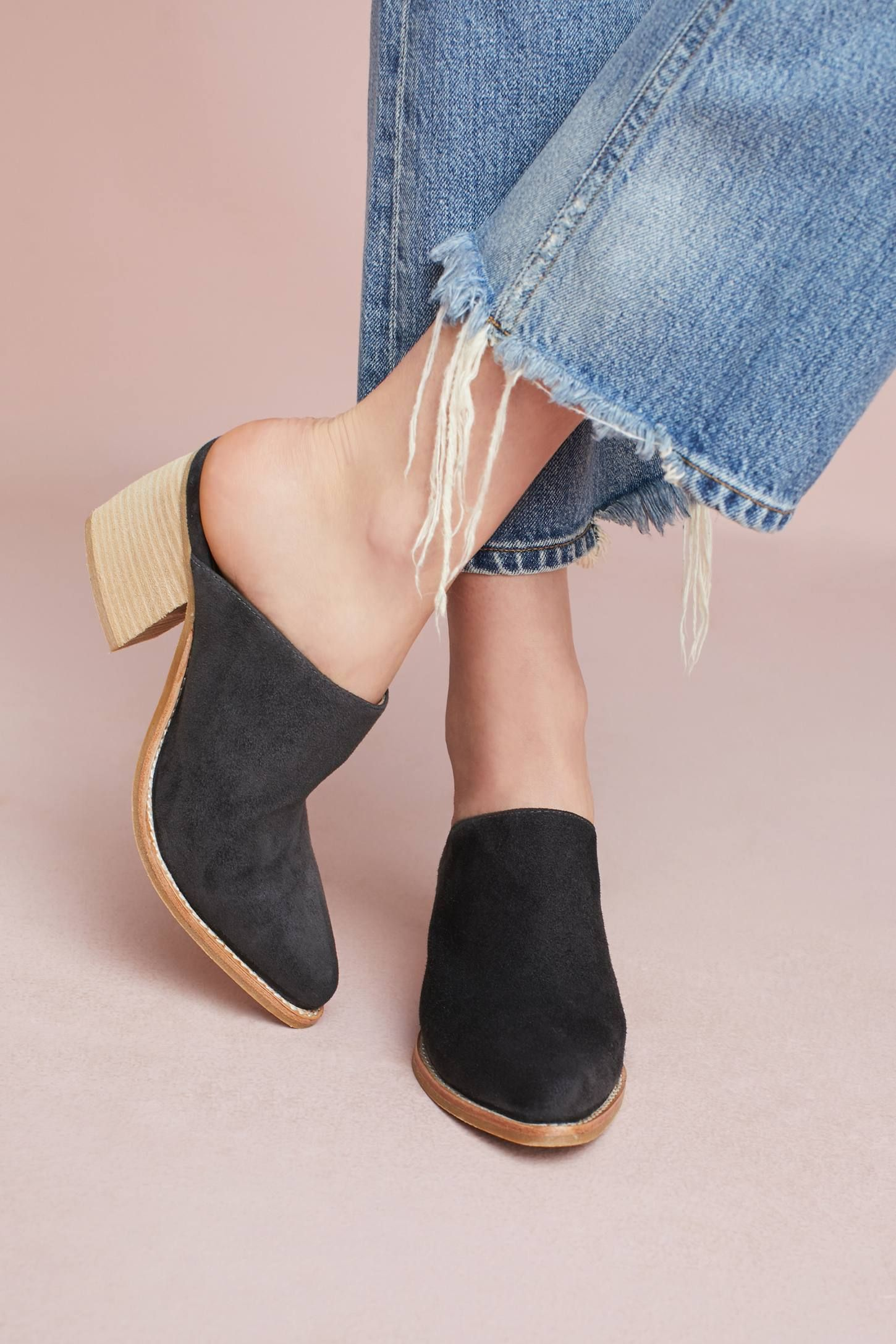 8d4d808392e Shop the Jeffrey Campbell Favela Mules and more Anthropologie at  Anthropologie today. Read customer reviews