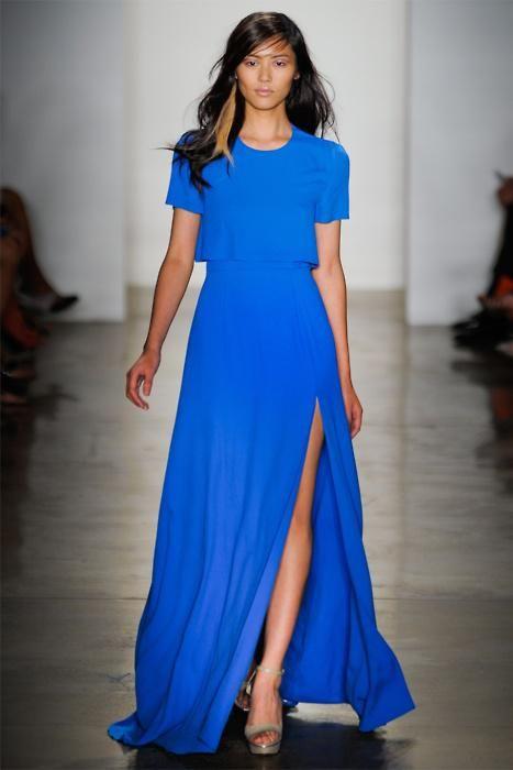 d8d05be5c Electric Blue Dress - Paperblog