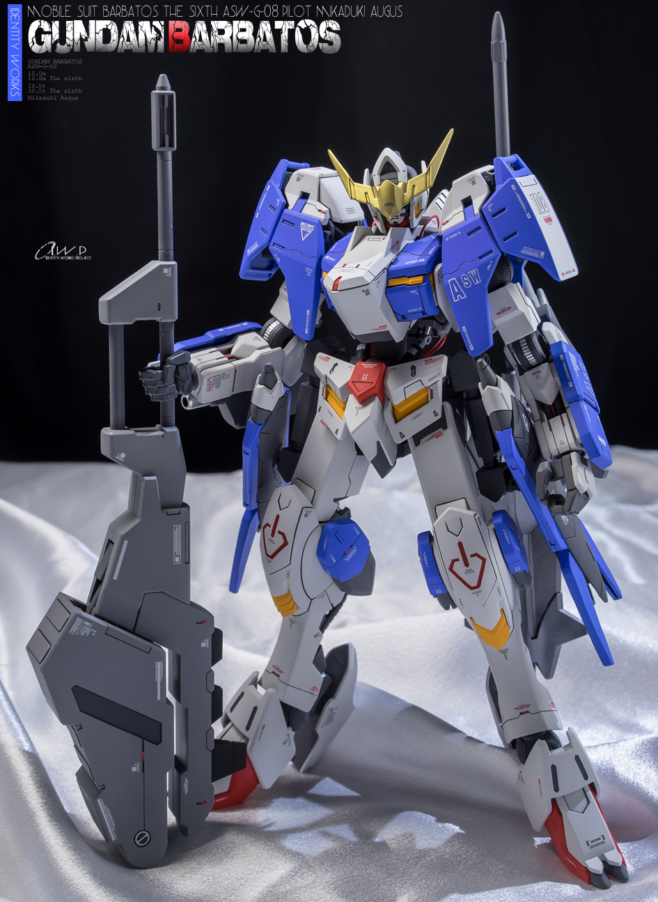 Custom Build: 1/100 Gundam Barbatos Form 6 [detailed] - Gundam ...