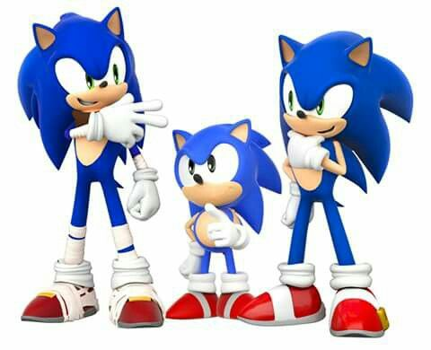 Classic Modern And Sonic Boom Sonic Sonic The Hedgehog Classic Sonic