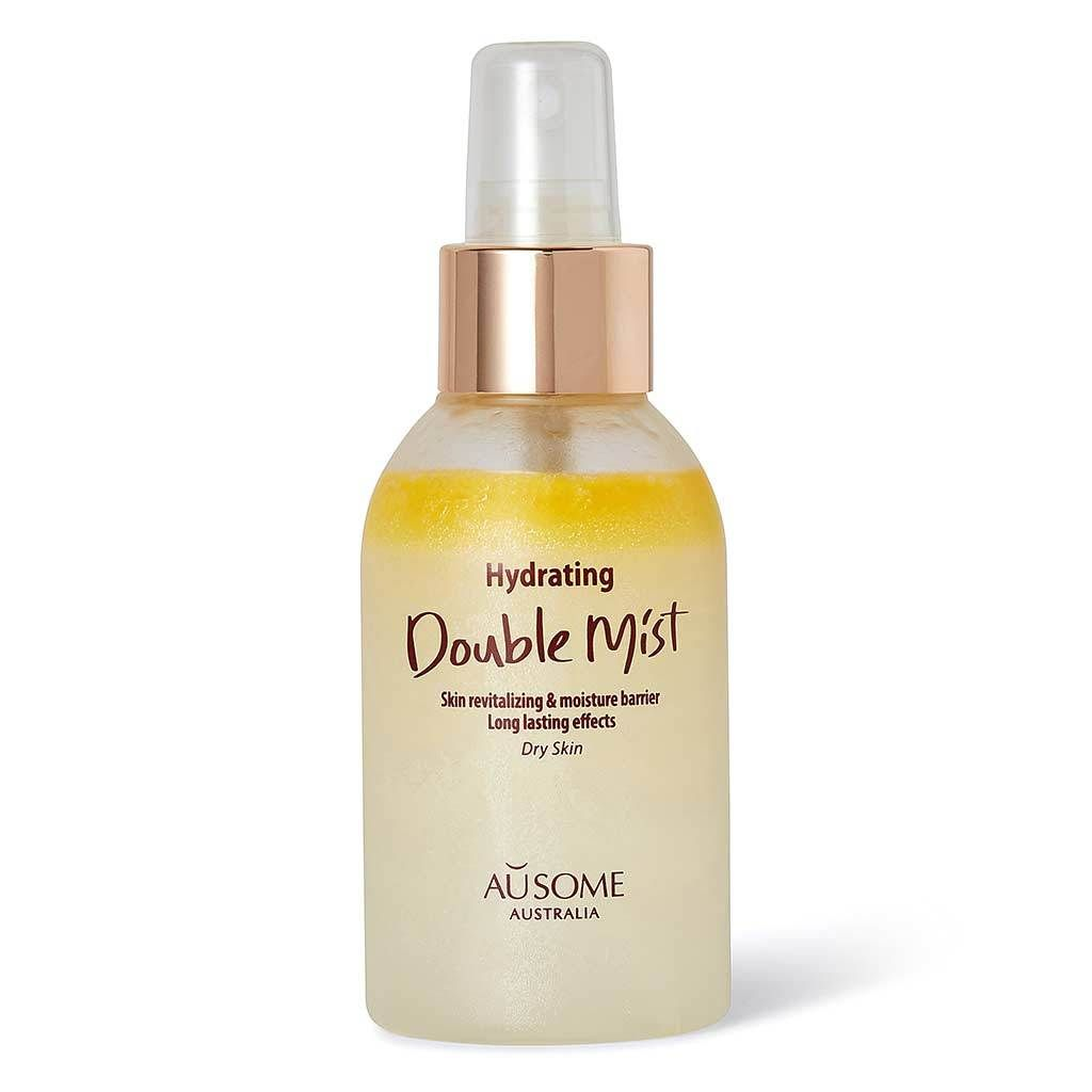 Whamisa Ausome Hydrating Double Layer Mist Organic Glow Recipe Korean Natural Skincare 97 Water Skin Cleanser Products Sensitive Skin Care Oily Skin Treatment