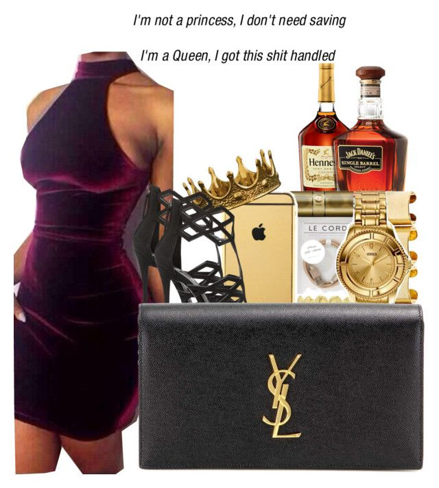 """""""GTTM"""" by bridaily ❤ liked on Polyvore featuring Giuseppe Zanotti and Yves Saint Laurent"""