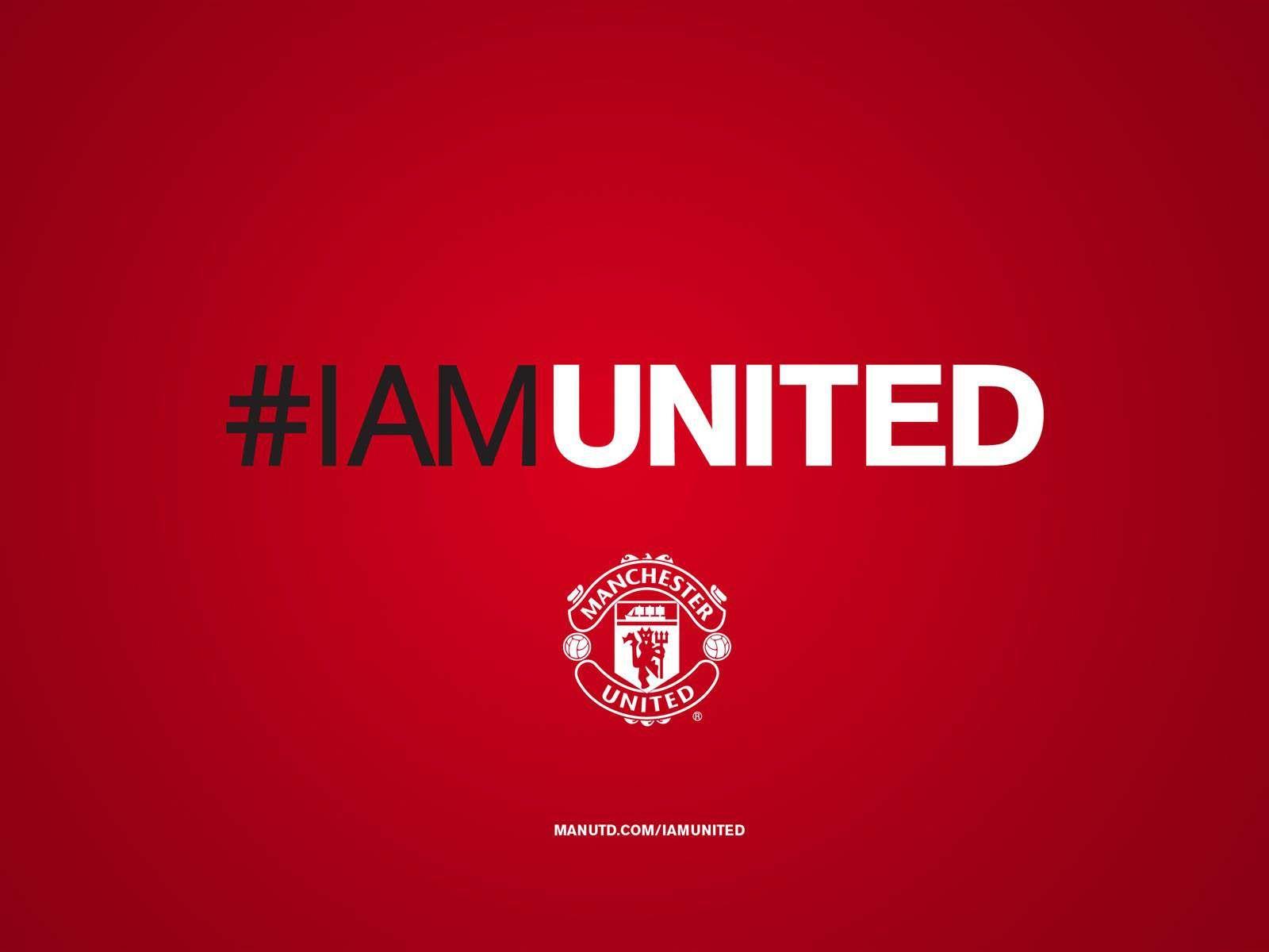Iamunited Manchester United Manchester United Wallpaper Manchester United Logo Manchester United