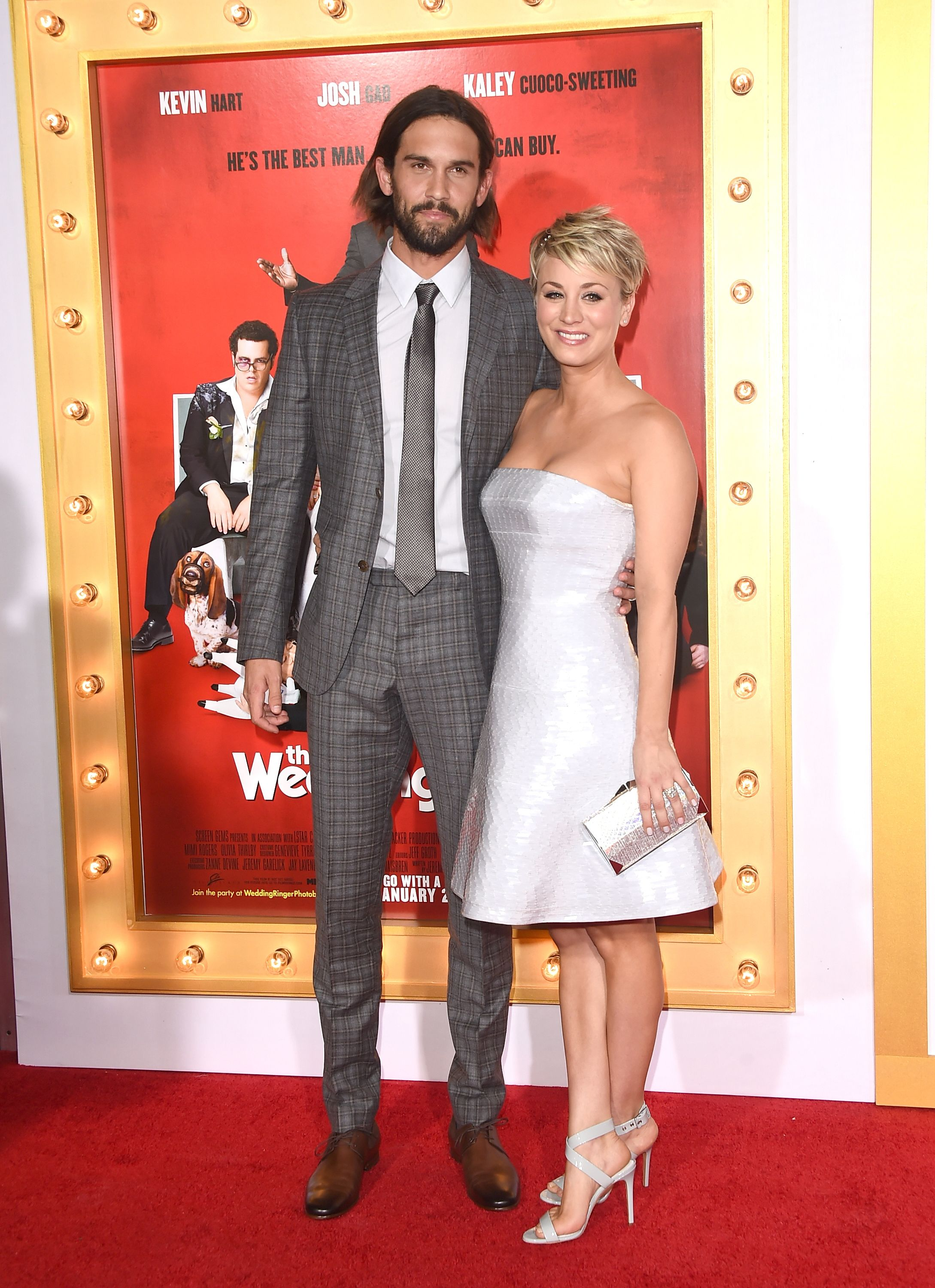 Wedding Ringer Cast.The Wedding Ringer Cast Interview Video Hair Kaley Cuoco