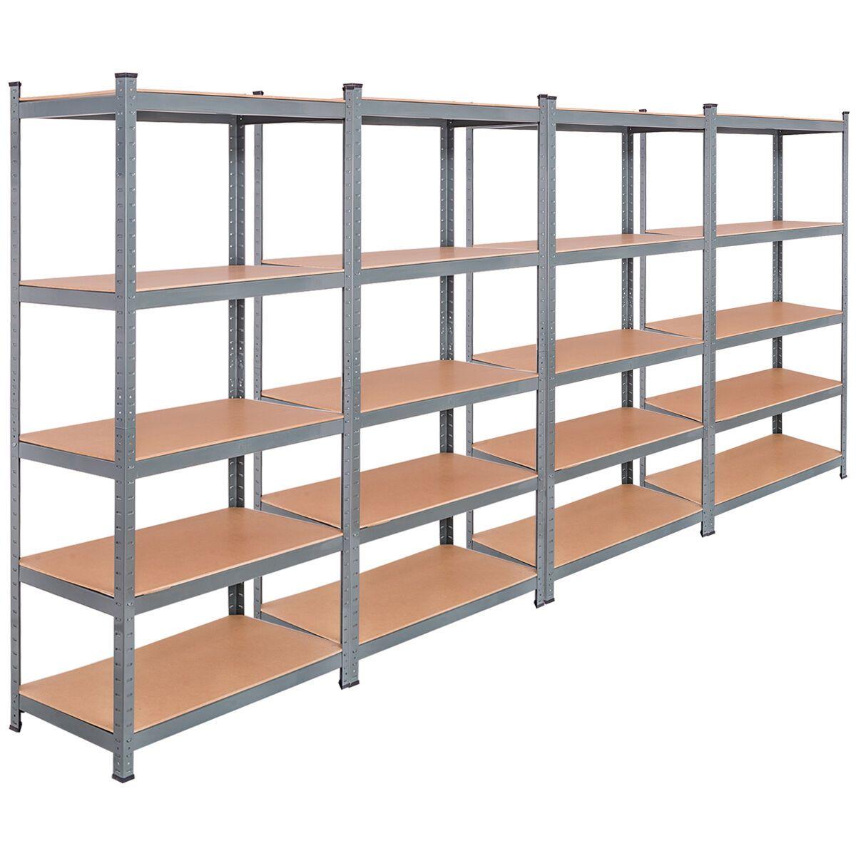Home Improvement Garage Storage Shelves Metal Wall Shelves