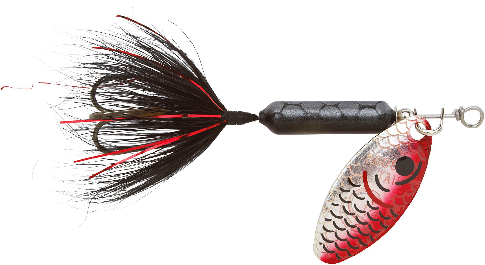 Worden/'s Yakima Bait Original Rooster Tail Fishing Lure Black Choice Of Sizes
