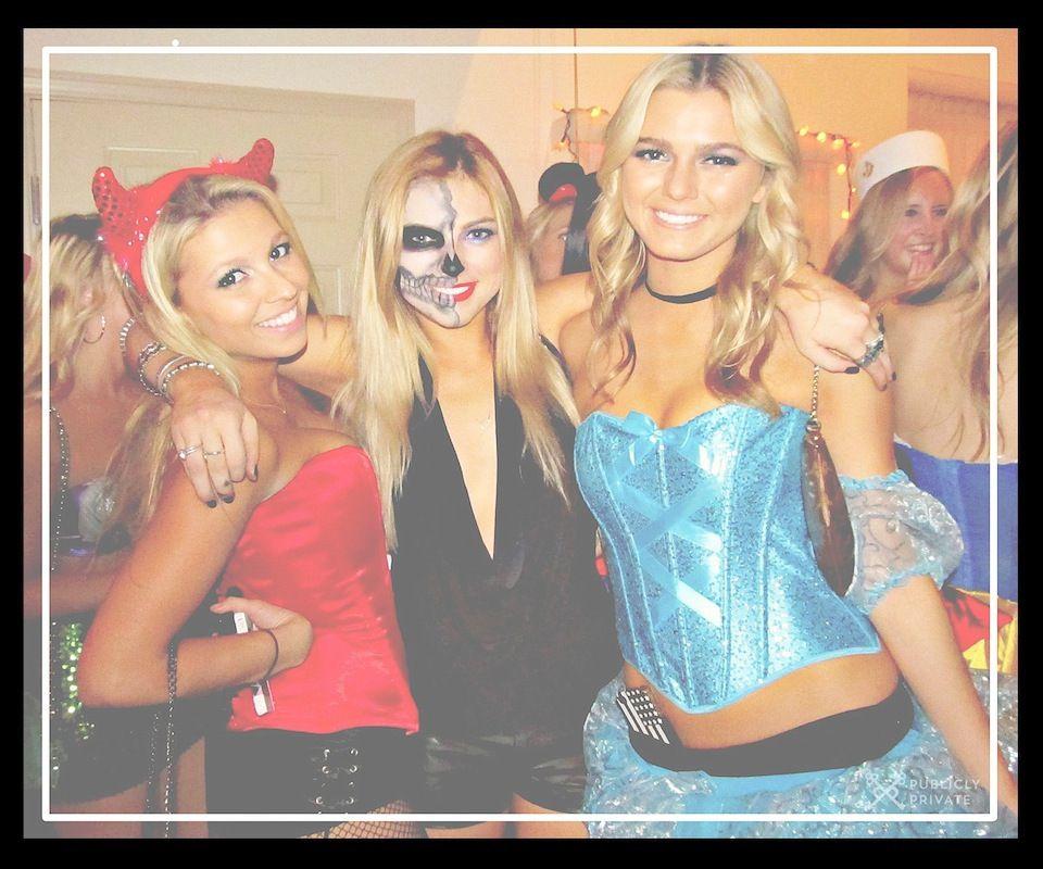 Best Halloween Costumes and DIY Makeup Living Dead Skeleton, Devil - halloween costume ideas easy