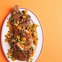 Moroccan Spiced Pork Chops, Rachael Ray. SO YUMMMMY!!!!!!