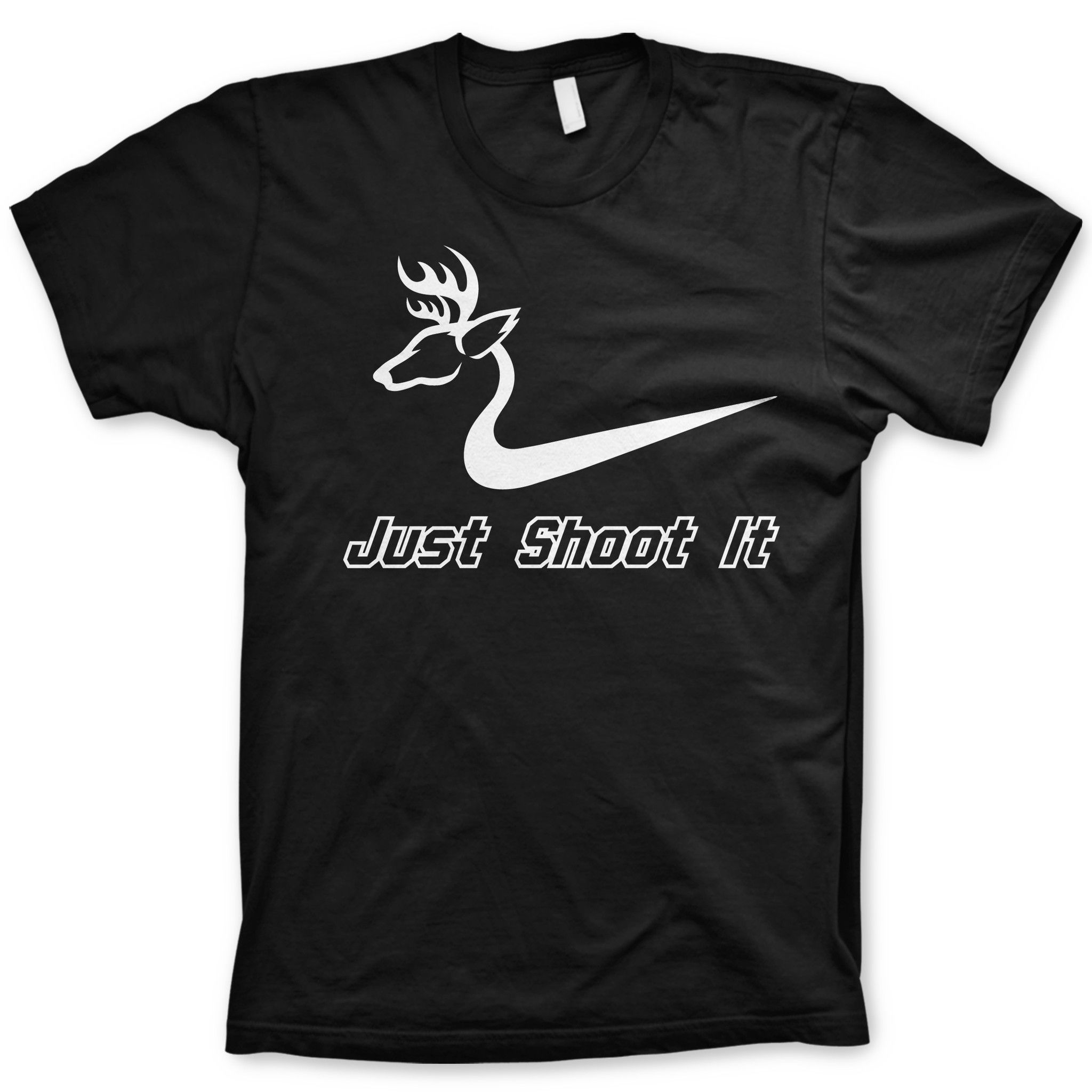 Funny Hunting Quotes Just Shoot It Shirt Funny Deer Hunting Tee  Funny Deer Deer