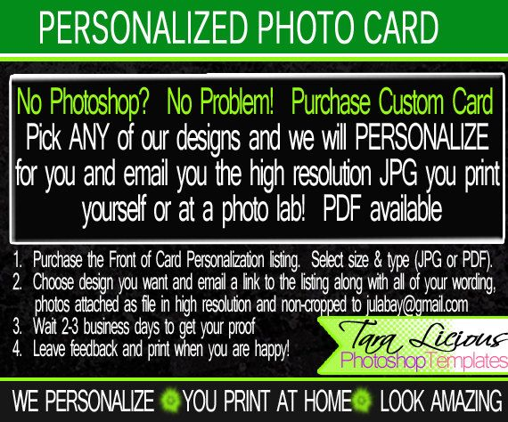 So you LOVE our designs but you DO NOT HAVE Photoshop? NO PROBLEM - birthday invitation card template photoshop